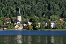 Ossiach Abbey, Austria Royalty Free Stock Photo