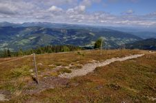 Free View From Gerlitzen Summit To Carinthia, Austria Stock Image - 16034941