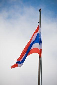 Free Thailand Flag Royalty Free Stock Images - 16035189