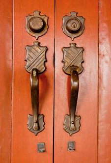 Free Old Door Knob Royalty Free Stock Images - 16036669