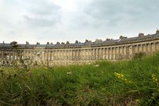 Free Bath Royal Crescent Royalty Free Stock Images - 16037369