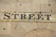 Free Street Sign Stock Photo - 16037420