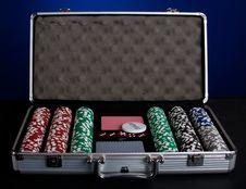 Free Poker Set Stock Photo - 16037670