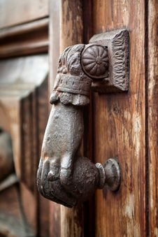 Free Beautiful Old Door Handle Royalty Free Stock Images - 16038209