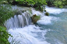 Free Beautiful Plitvice Waterfall Stock Photo - 16038330