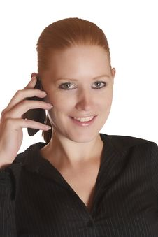 Free Woman With Mobile Phone Stock Photography - 16038682