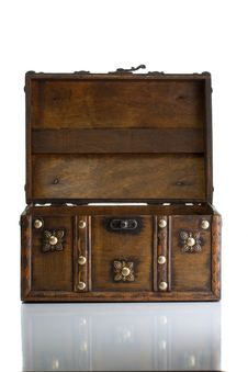 Free Open Treasure Box Stock Photo - 16039170