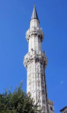 The Minaret Of Sehzade Mosque Stock Photos