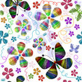 Free White Seamless Floral Pattern Stock Photos - 16049693