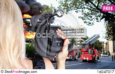 Free Firing The City Royalty Free Stock Photography - 16047017