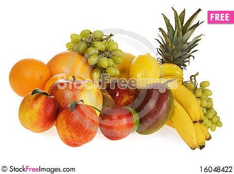 Free Assortment Of Fresh Fruits Stock Photography - 16048422