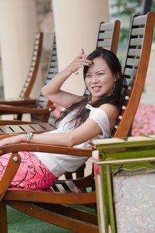 Free Asian Woman Tooth Smile Stock Photo - 16040180