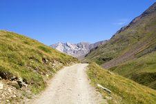 Free Mountain Path Stock Photos - 16040433