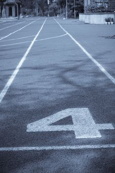 Free Running Track Lines Royalty Free Stock Photos - 16040758