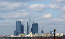 Free General View Of The City Of Moscow Stock Photography - 16040922