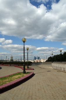 Free General View Of The City Of Moscow Royalty Free Stock Image - 16041086