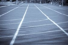 Free Running Track Lines Stock Photos - 16041273