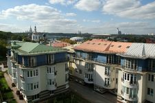 Free General View Of The City Of Moscow Stock Images - 16041324