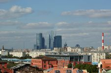 Free General View Of The City Of Moscow Royalty Free Stock Images - 16041869