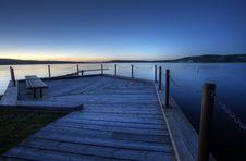 Northern Lake Evening Royalty Free Stock Photos