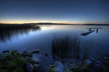 Free Northern Lake Evening Royalty Free Stock Photos - 16041958