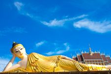 Free Inclined Buddha Royalty Free Stock Images - 16042369