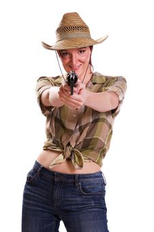 Free Cowgirl Stock Photos - 16042383