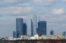 Free General View Of The City Of Moscow Royalty Free Stock Image - 16043666