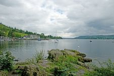 Free View Of The Lake Stock Photos - 16044223