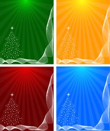 Free Abstract Winter Background Royalty Free Stock Images - 16044509