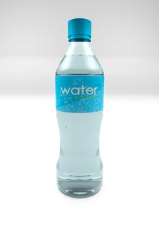 Free Water Bottle Royalty Free Stock Images - 16044969