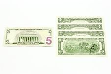 Exchange Of Dollars. Royalty Free Stock Images