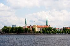 Free Old Riga Panorama Stock Photos - 16045203