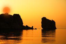 Free Sunset Royalty Free Stock Image - 16046806