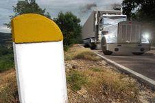 Truck Transport Stock Photo