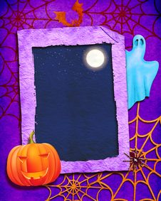 Free Halloween Color Background Stock Photography - 16048372