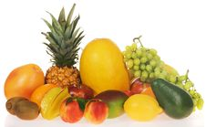 Free Assortment Of Fresh Fruits Royalty Free Stock Image - 16048416