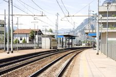 Free Little Mountain Rail Station Stock Photography - 16048582