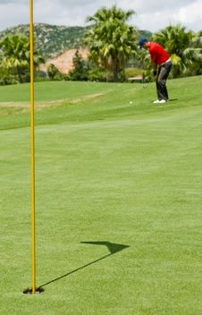 Free Golf Pitch-shot Stock Photo - 16048720