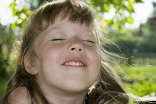 Free Cheerful Little Girl Stock Photos - 16048743