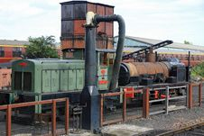 Free Steam  Loco & Diesil Train Stock Photography - 16049102