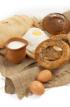 Free Country Breakfast Royalty Free Stock Images - 16049449