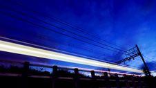 Night Train Stock Photos