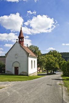 Free Little Chapel Stock Photography - 16049592