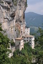 Free Rock Monastery On Lake Garda Stock Photos - 16051333