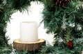 Free Christmas Wreath Royalty Free Stock Photography - 16052007