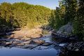 Free Small Falls In Northern River Stock Photography - 16052442