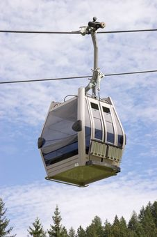 Cable Car On A Cableway Stock Photography