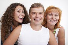 Free Happy Family Royalty Free Stock Photography - 16050507