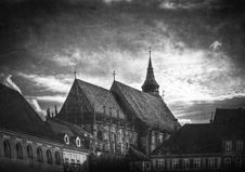Free Black Church, Brasov Stock Photos - 16050603